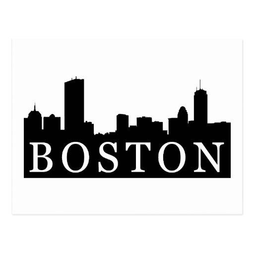Boston Skyline Postcards