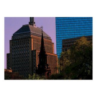 Boston Skyline Profile Card