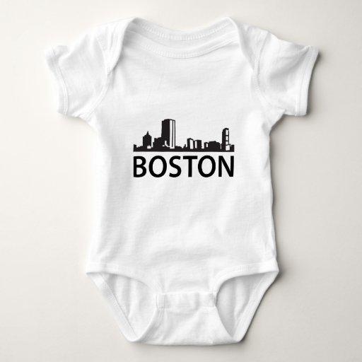 Boston Skyline T-shirts