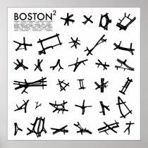 Boston Squared Poster