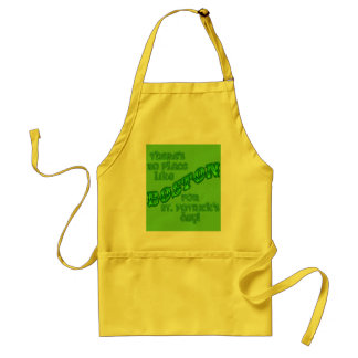 BOSTON St. Patricks Day Adult Apron