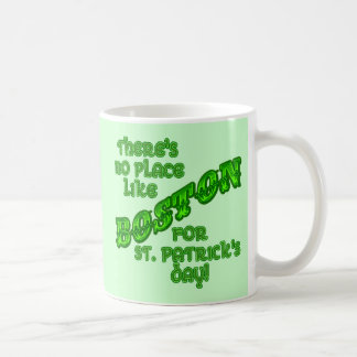 BOSTON St. Patricks Day Coffee Mug