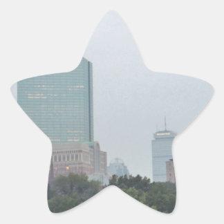 Boston Star Sticker