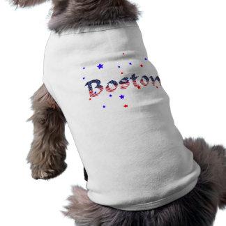 Boston Stars & Stripes Doggie Tee Shirt