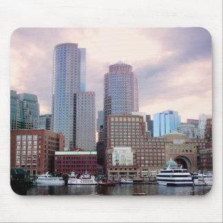 Boston Stormy Skyline Mouse Pad
