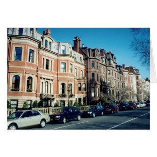 boston street greeting cards