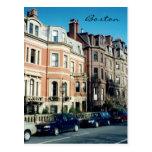 boston streets postcards