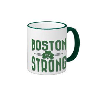 Boston Strong 617 Graphic Decor Ringer Mug