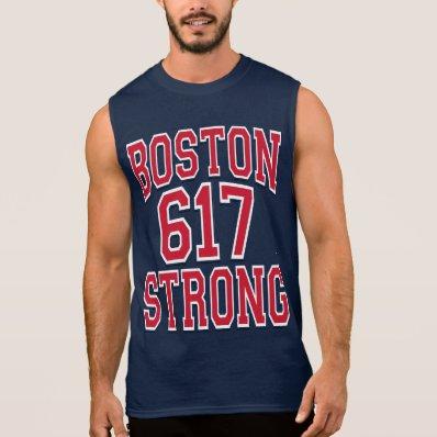 Boston STRONG 617 T-shirts