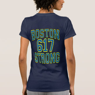 Boston STRONG 617 Typography Shirts