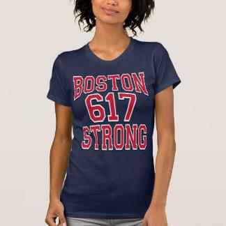Boston STRONG 617 Typography T-Shirt
