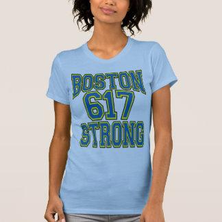 Boston STRONG 617 Typography Tshirts