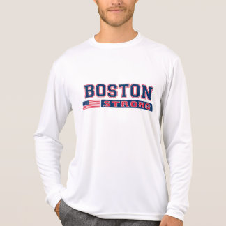 BOSTON STRONG American Flag T-shirt
