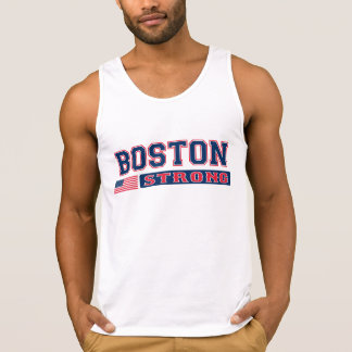 BOSTON STRONG American Flag Tank Top