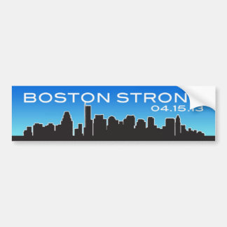 Boston Strong April 15, 2013 Bumper Sticker
