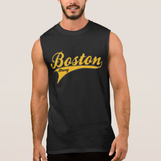 BOSTON STRONG Ballpark (Gold) Sleeveless Shirt