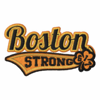 Boston Strong Ballpark Shamrock embroidered