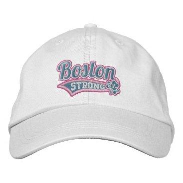 USA Themed Boston Strong Ballpark Shamrock embroidered Cap
