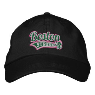 Boston Strong Ballpark Shamrock embroidered Cap