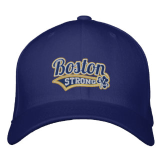 Boston Strong Ballpark Shamrock embroidered Cap Embroidered Hat