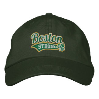 Boston Strong Ballpark Shamrock embroidered Cap Embroidered Baseball Caps