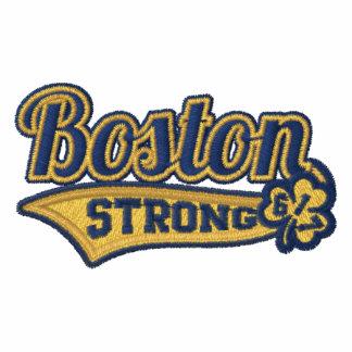 Boston Strong Ballpark Shamrock embroidered Polo Shirt