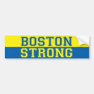Boston Strong banner style Bumper Sticker