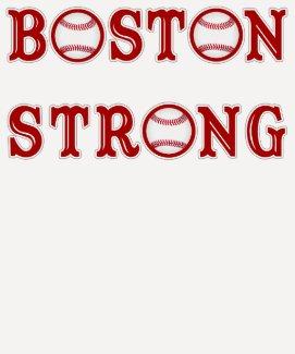 Boston Strong Baseball Tee Shirts for Women