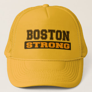 BOSTON STRONG Black and Gold Hats