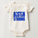 Boston strong Blue Romper