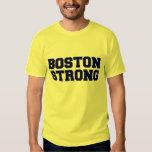 boston strong blue text shirt