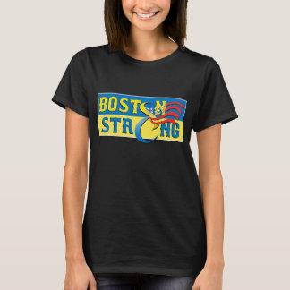 Boston Strong Blue & Yellow Ribbon Shirt