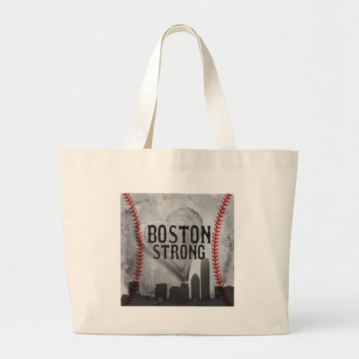 Boston Strong by Vetro Jewelry & Designs Tote Bag