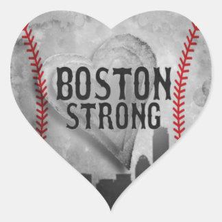 Boston Strong by Vetro Jewelry & Designs Heart Sticker