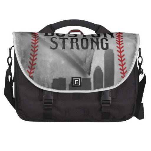 Boston Strong by Vetro Jewelry & Designs Laptop Messenger Bag