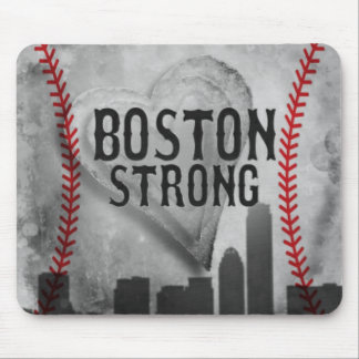 Boston Strong by Vetro Jewelry & Designs Mouse Pad