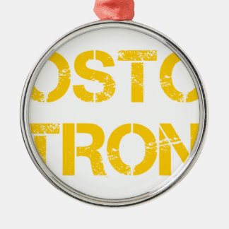 boston-strong-cap-yellow.png metal ornament