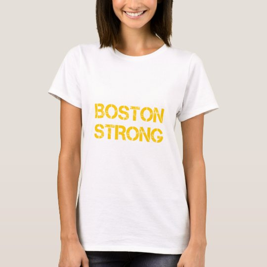 boston-strong-cap-yellow.png T-Shirt