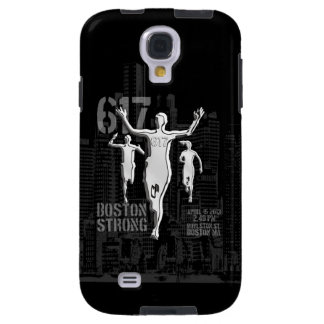 Boston Strong City Runners Scene Galaxy S4 Case