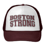 BOSTON STRONG College Style Trucker Hat