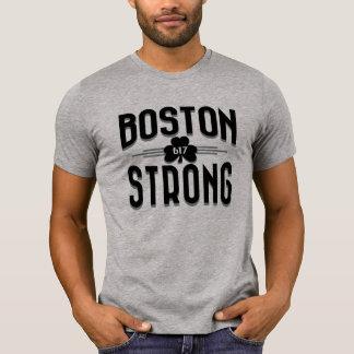 Boston Strong Deco Shamrock Irish Shirt