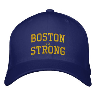 Boston Strong Embroidered Baseball Cap