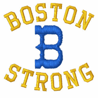Boston Strong Embroidered Shirt
