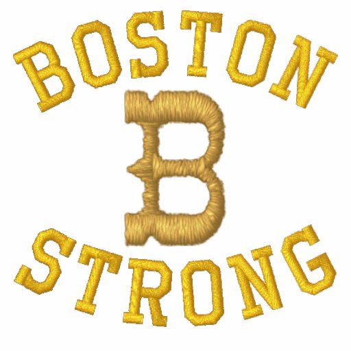 Boston Strong Embroidered Polo Shirts