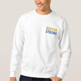 Boston Strong Embroidered Sweatshirt