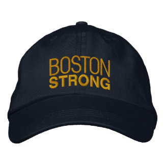 Boston Strong Embroidery Embroidered Baseball Cap
