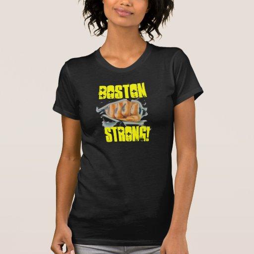 BOSTON STRONG FIST BREAKTHROUGH TEE!