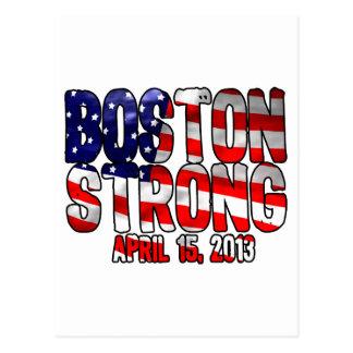 Boston Strong Flag Postcard