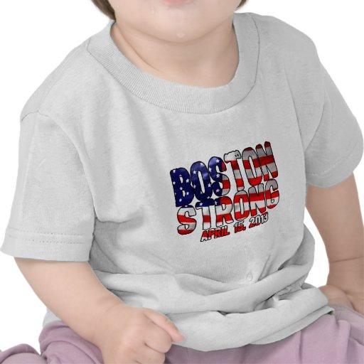 Boston Strong Flag Tee Shirts