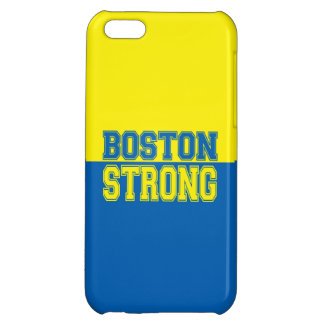 Boston Strong Gift Yellow and Blue iPhone 5C Cover